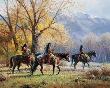western American Indians 27 Oil Paintings