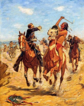 western American Indians 34 Oil Paintings