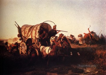 western American Indians 38 Oil Paintings
