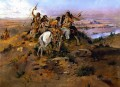 indians discovering lewis and clark 1896 Charles Marion Russell American Indians