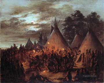 western American Indians 37 Oil Paintings