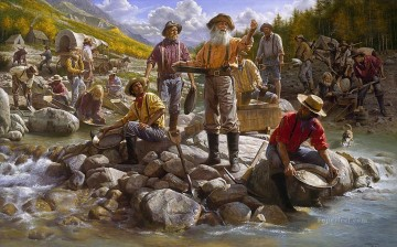 western American Indians 42 Oil Paintings