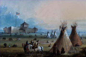 western American Indians 61 Oil Paintings