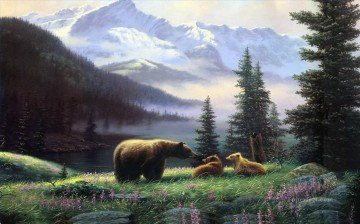 Animal Painting - bear 17