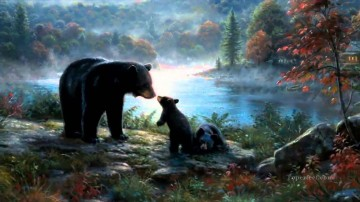 Animal Painting - bear 18