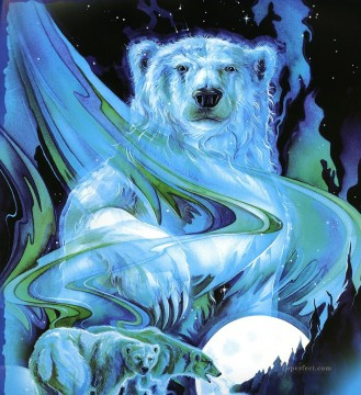Animal Painting - ursa major polar bear