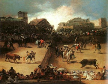 The Bullfight Romantic modern Francisco Goya Oil Paintings