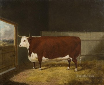 cattle bull cow Painting - bull 07