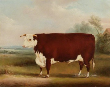 cattle bull cow Painting - cattle 07 2