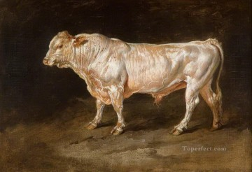 cattle bull cow Painting - cow 14