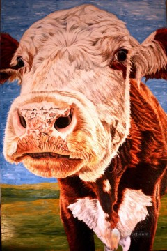 holy cow Oil Paintings