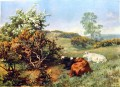 Charles Collins landscape with cattle