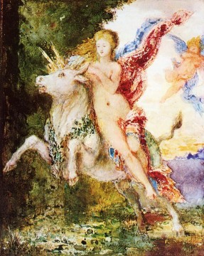 Animal Painting - Moreau Europa and the Bull