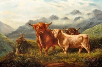 cattle bull cow Painting - cattle 05