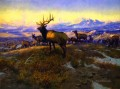 the exalted ruler 1912 Charles Marion Russell deer
