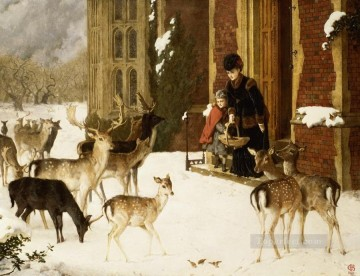 deer and The Sisters Of Charity Oil Paintings