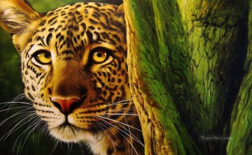 Leopard 12 Oil Paintings