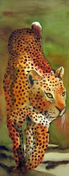 Animal Painting - leopard 11