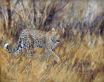 leopard 18 Oil Paintings
