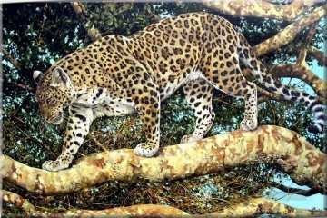 leopard 21 Oil Paintings