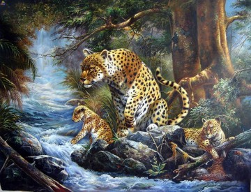 leopard 28 Oil Paintings