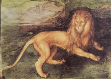 Lion Albrecht Durer Oil Paintings