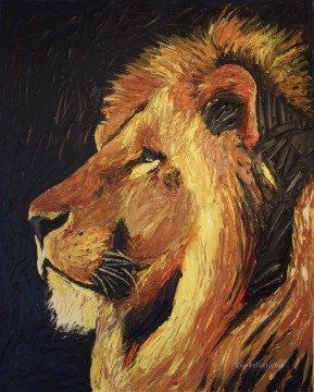 Animal Painting - lion 19
