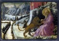 LIPPI Fra Filippo Saint Jerome and the Lion Predella Panel