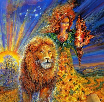 josephine wall leo Oil Paintings