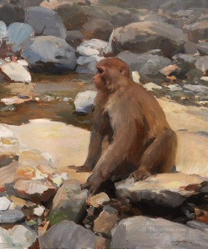 Animal Painting - monkey 1