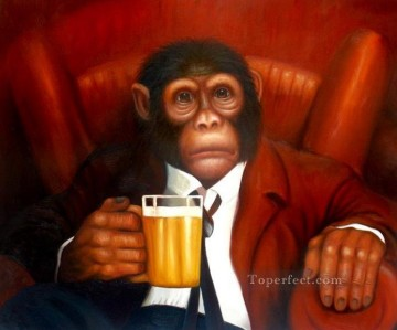 Monkey Painting - mr monkey