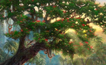 The Jungle Book part1 Thomas Kinkade Oil Paintings