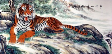 Chinese Painting - Chinese tiger