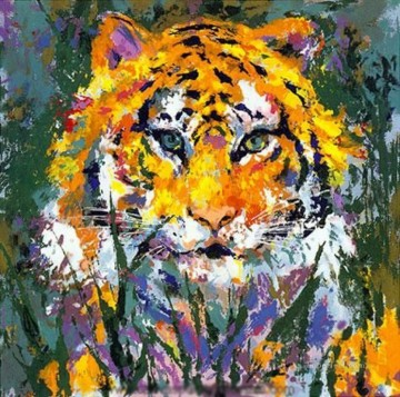 impressionism tiger Decor Art