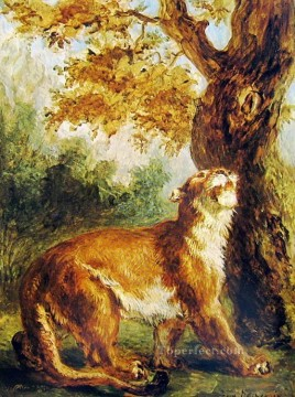 Animal Painting - puma 1859 Eugene Delacroix