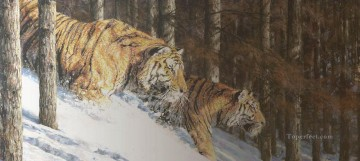 Animal Painting - tiger 2