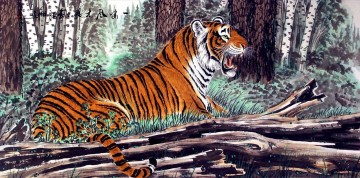 Animal Painting - tiger 7
