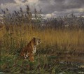 G za Vastagh A Tiger in a Landscape