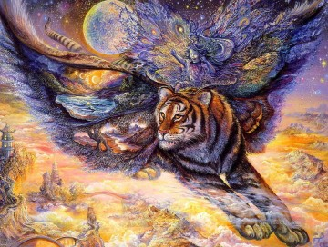 Tiger Painting - josephine wall tigermoth