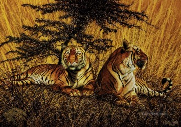 Animal Painting - tiger 20