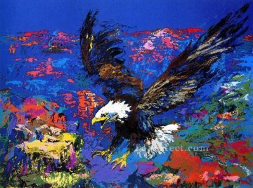 Bird Painting - American Bald Eagle birds