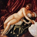 Leda and the swan Italian Renaissance Tintoretto birds
