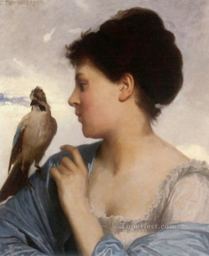 The Bird Charmer 1873 Leon Bazile Perrault Oil Paintings