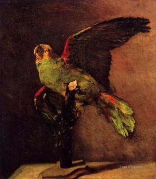 Bird Painting - vincent van gogh the green parrot 1886 birds