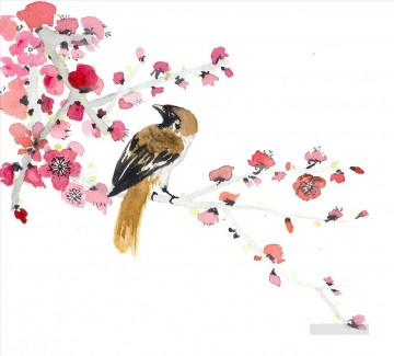 watercolor Deco Art - watercolor bird