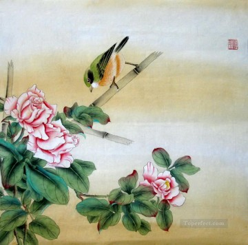 Bird Painting - am120D animal bird