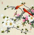 Chinese bird flower parrot