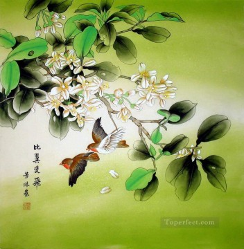 Chinese pair of birds Oil Paintings