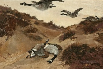 Wild Art - Winslow Homer Wild Geese in Flight birds