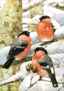 marjolein bastin birds Oil Paintings